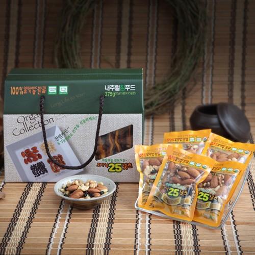 NaturalOrganic 유기농 한줌 견과선물세트 1호