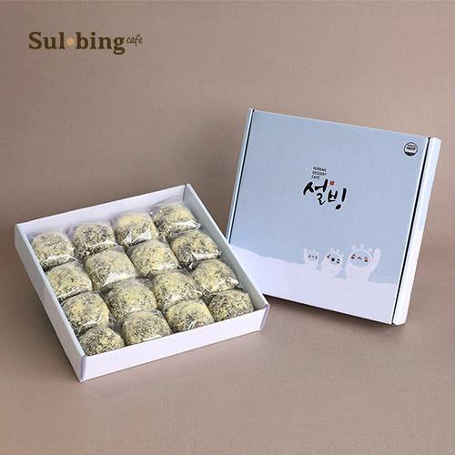 [설빙] 정성으로 빚은 설빙 흑미영양찰떡 (50g×16개입)×2박스 이미지