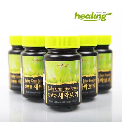 [healing] 새싹보리 추출 착즙분말 간편한 새싹보리정 36g [600mg×60정] 이미지