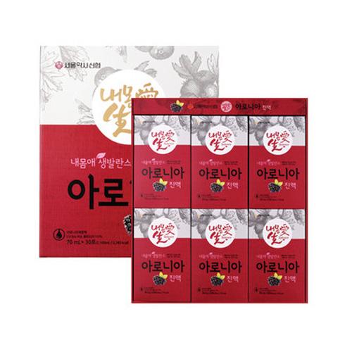 [서울약사신협] 내몸애 생발란스 아로니아 70ml×30포