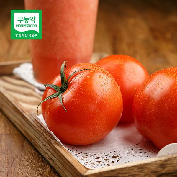 [산지직송] 탱글탱글 무농약 찰토마토(완숙) 3kg