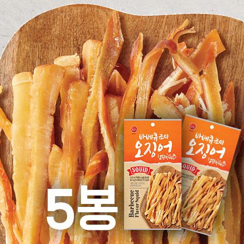 [썬푸드] 달콤한 바베큐맛 조미오징어 40g×5봉 / 10봉 이미지