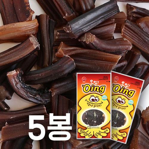 [썬푸드] 먹을수록 끌리는맛! 오징어다리 오잉 50g×5봉 / 10봉 이미지