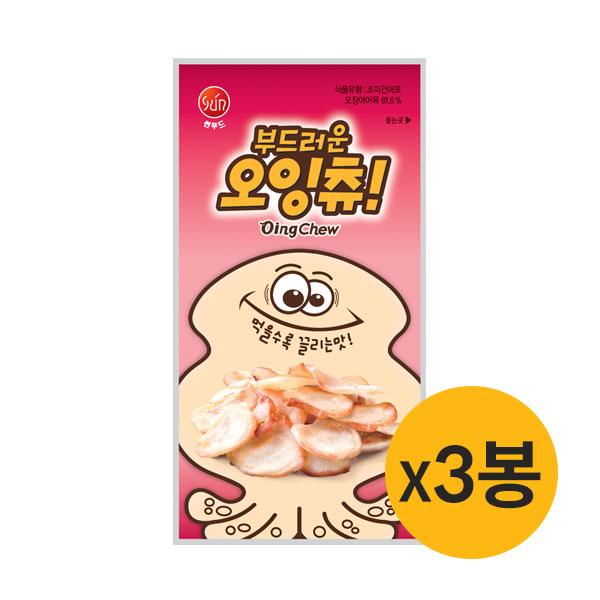 [썬푸드] 먹을수록 끌리는 부드러운 오잉-츄 40g×3봉 / 5봉 이미지