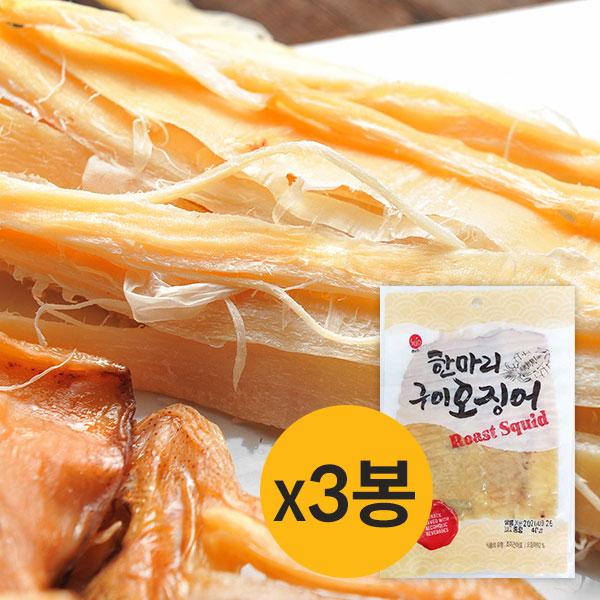 [썬푸드] 부드러운 한마리 구이오징어 40g×3봉 / 5봉 이미지