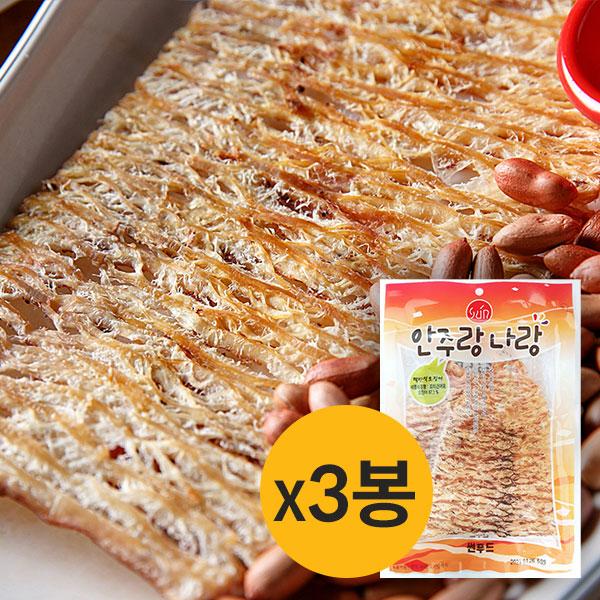 [썬푸드] 찢어먹는 맥반석 오징어(특) 60g×3봉 / 5봉 이미지