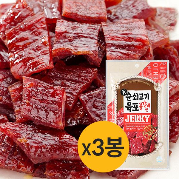 [썬푸드] 으뜸 순쇠고기 육포(불갈비맛) 42g×3봉 / 5봉 이미지
