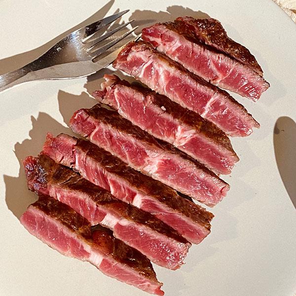 [고기아찌] USDA 프라임 솔트에이징 소고기 부채살 450g (150g×3팩) 이미지