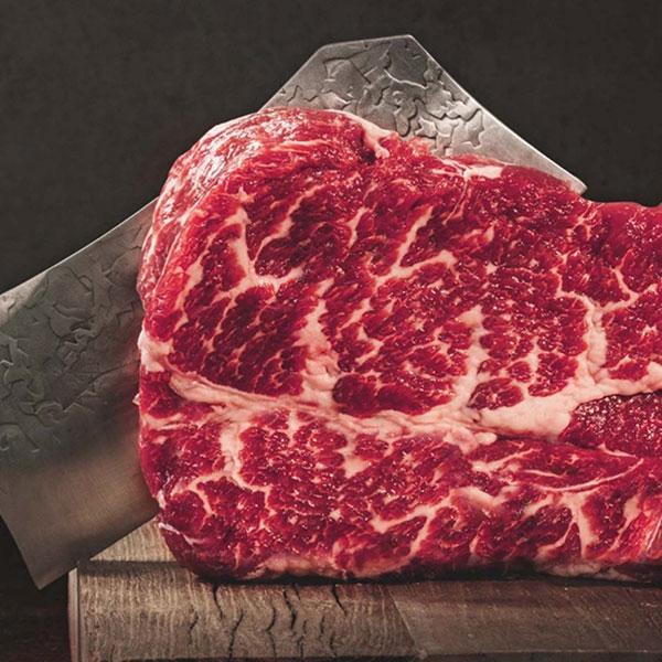 [고기아찌] USDA 프라임 솔트에이징 소고기 등심 450g (150g×3팩) 이미지