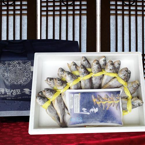 [전남영광] 법성포 전통 장줄굴비 1호세트(20미/1.5kg내외/16~18cm내외) 이미지