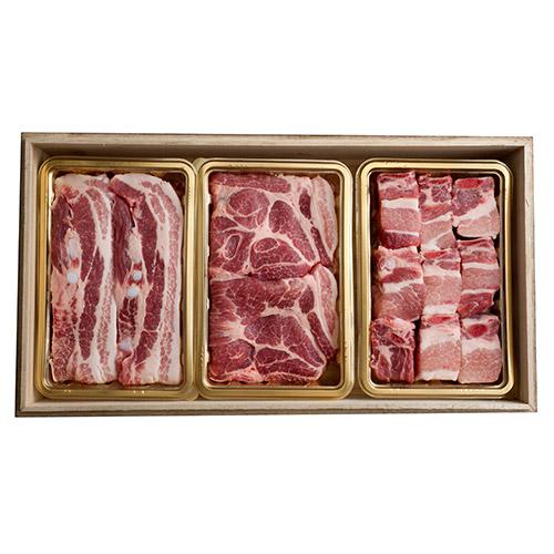 [설이왔소][행복한목장] 무항생제 순빛살 돼지 선물세트 4호(fresh) 이미지