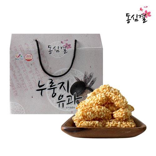 [설이왔소][동심결] 35년전통! 누룽지유과 선물세트 이미지