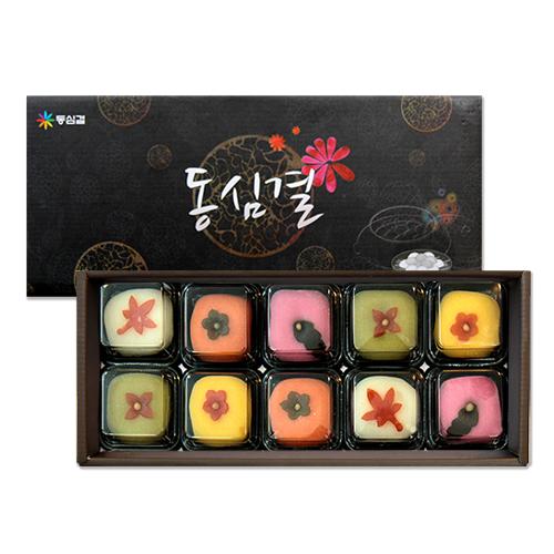 [설이왔소][동심결] 고운빛깔의 전통 수제 화과정 선물세트 1호 이미지