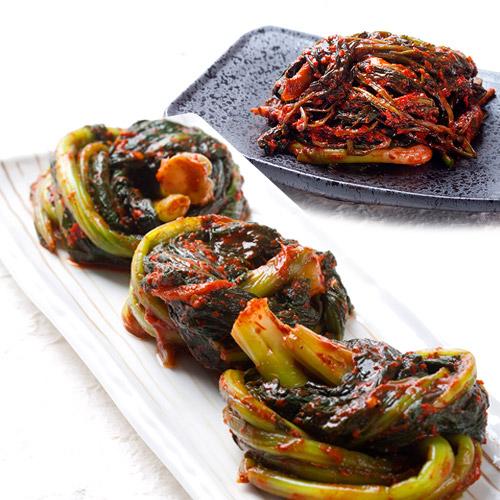 [전남여수] 톡쏘는맛이 일품인 돌산갓김치 2kg+고들빼기 1kg 이미지